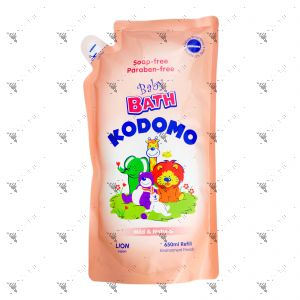Kodomo Baby Bath Refill 650ml Mild & Natural