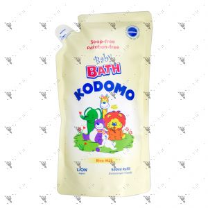 Kodomo Baby Bath Refill 650ml Rice Milk
