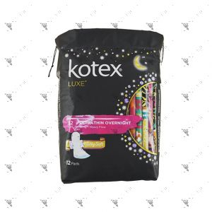 Kotex Luxe Ultrathin Wing 32cm 12S