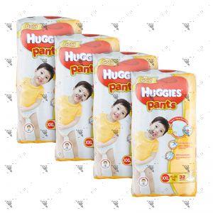 Huggies Gold Pants XX-Large 32S (x4Packs)