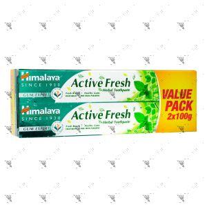 Himalaya Toothpaste 2x100g Active Fresh