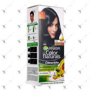 Garnier Color Naturals Cream 1 Natural Black