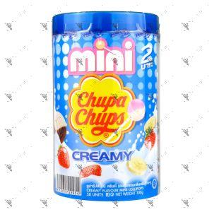 Chupa Chups Mini Lollipops Creamy Flavour 50s