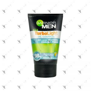 Garnier Men TurboLight Grease Control Brightening Cooling Foam 100ml