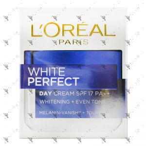 L'Oreal Paris White Perfect Day Cream SPF 17 50ml Melanin Vanish