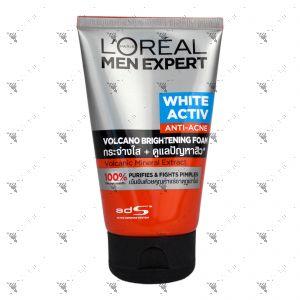 L'oreal Men Expert White Activ Volcano Red Foam 100ml