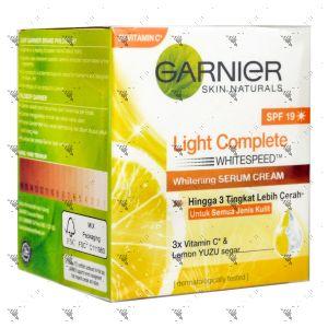 Garnier Light Complete Whitening Serum Cream SPF19 50ml