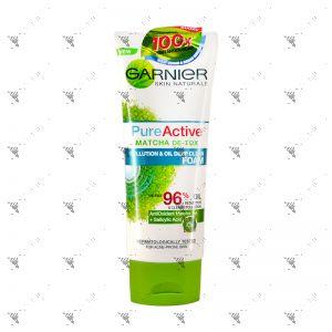 Garnier Pure Active Foam 100ml  Matcha Deep Clean