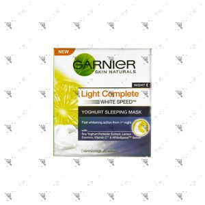 Garnier Light Complete Yoghurt Sleeping Mask 50ml
