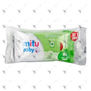 Mitu Baby Antiseptic Wipes 2x10s Refreshing Lime