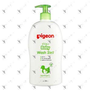 Pigeon Baby Wash 2in1 700ml Jojoba & Chamomile