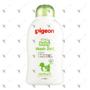 Pigeon Baby Wash 2in1 200ml Jojoba & Chamomile