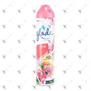 Glade 2in1 Air Freshener 350ml Rose Bouq