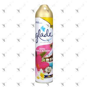 Glade Air Freshener 350ml + 50ml Exotic Tropical Blossoms