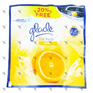 Glade Car Fresh 70g Orange Refill