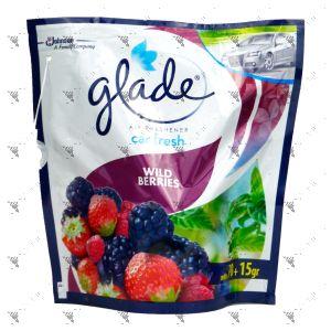 Glade Car Fresh 70g Wild Berries Refill