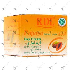 RDL Papaya Extract Day Cream 20g with Vitamin C