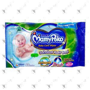 Mamypoko Baby Care Wipes 48s Green Tea Non Fragrance