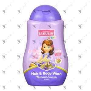 Eskulin Kids 2in1 Hair & Body Wash 280ml Sofia The First