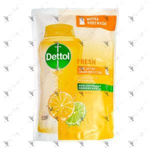 Dettol Bodywash Refill 410g Fresh