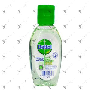 Dettol Instant Hand Sanitizer 50ml Refresh with Aloe Vera