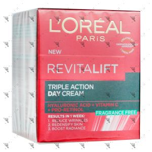 L'Oreal Revitalift Triple Action Day Cream 50ml