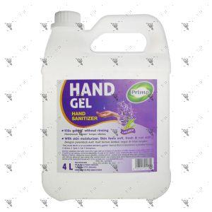 Primo Hand Gel Sanitizer 4L Lavender