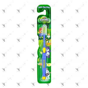 Kodomo Kids Toothbrush Soft Zig-Zag (Assorted Colors)