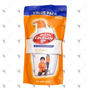 Lifebuoy Bodywash Refill 850ml Vita Protect