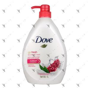 Dove Bodywash 1L Go Fresh Revive