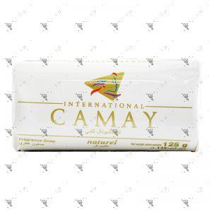 Camay Bar Soap (125gX3) Naturel White
