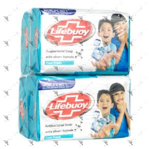 Lifebuoy Anti-Bacterial Soap 75gx4 (Cool Fresh)