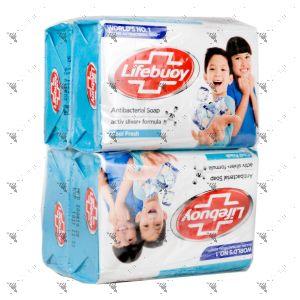 Lifebuoy Anti-Bacterial Soap 75gx4 (Cool Fresh)