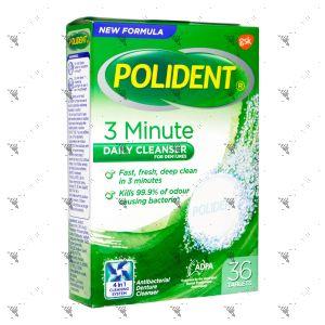 Polident Denture Cleanser 3 Minutes 36s