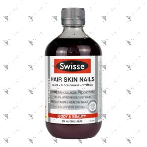Swisse Ultiboost Hair Skin Nails 500ml Oral Liquid