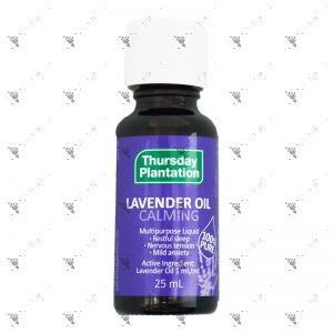 Thursday Plantation Lavender Oil Calming 25ml