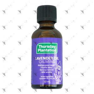 Thursday Plantation Lavender Oil Calming 50ml
