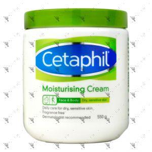 Cetaphil Moisturizing Cream Dry, Sensitive Skin 550g