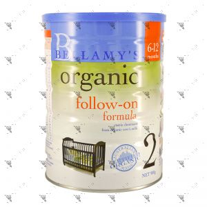 Bellamy's Organic 900g Stage 2 Follow-on Formula