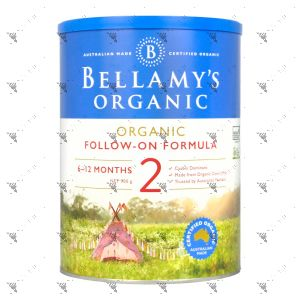 Bellamy's Organic 900g Stage 2 Follow-on Formula
