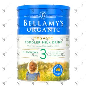 Bellamy's Organic 900g Stage 3 Toddler Milk Drink