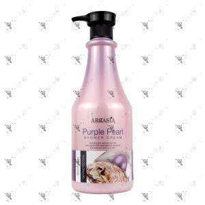 Argasia Shower Cream 1100ml Purple Pearl