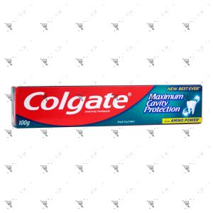 Colgate Toothpaste Maximum Cavity Protection 100g Fresh Cool Mint