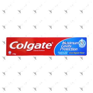 Colgate Maximum Cavity Protection Toothpaste (Great Regular) 175g