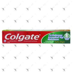 Colgate Toothpaste Maximum Cavity Protection 175g Icy Cool Mint