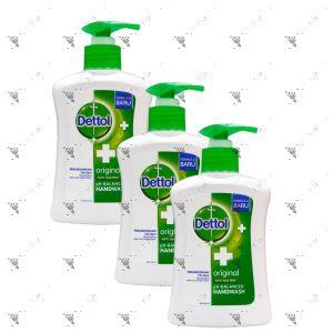 Dettol Hand Soap 225mlx3 Original