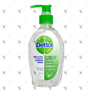Dettol Instant Hand Sanitizer 200ml Pump