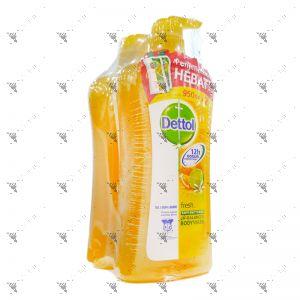 Dettol Bodywash 950mlx2 Fresh