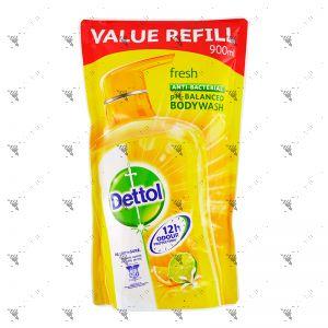 Dettol Fresh Body Wash REFILL 900ml