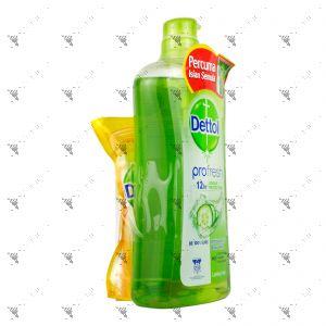 Dettol Shower Gel 950ml Lasting Fresh+250ml Fresh